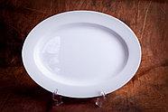 Белый столовый сервиз Классика (без декора), фото 6