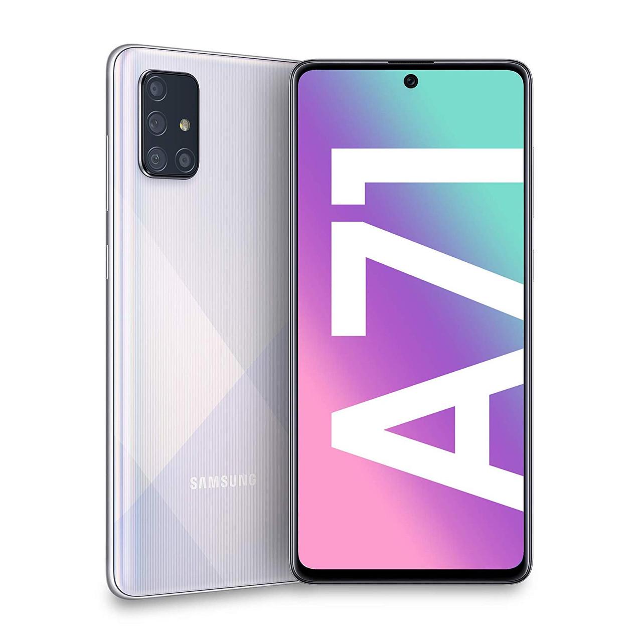 Смартфон Samsung Galaxy A71 128Gb SILVER