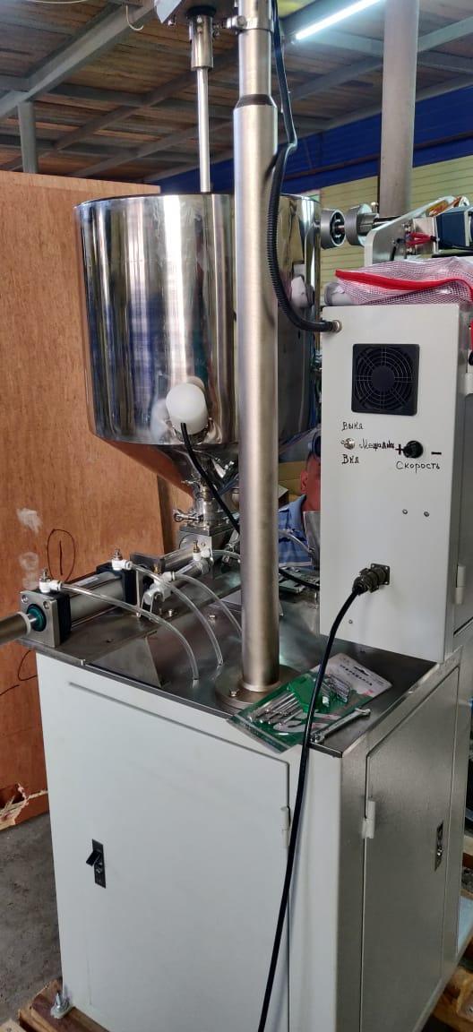 Автоматическая фасовочно-разливочное оборудование для (соусов, меда, сиропов и тд. и тп.)