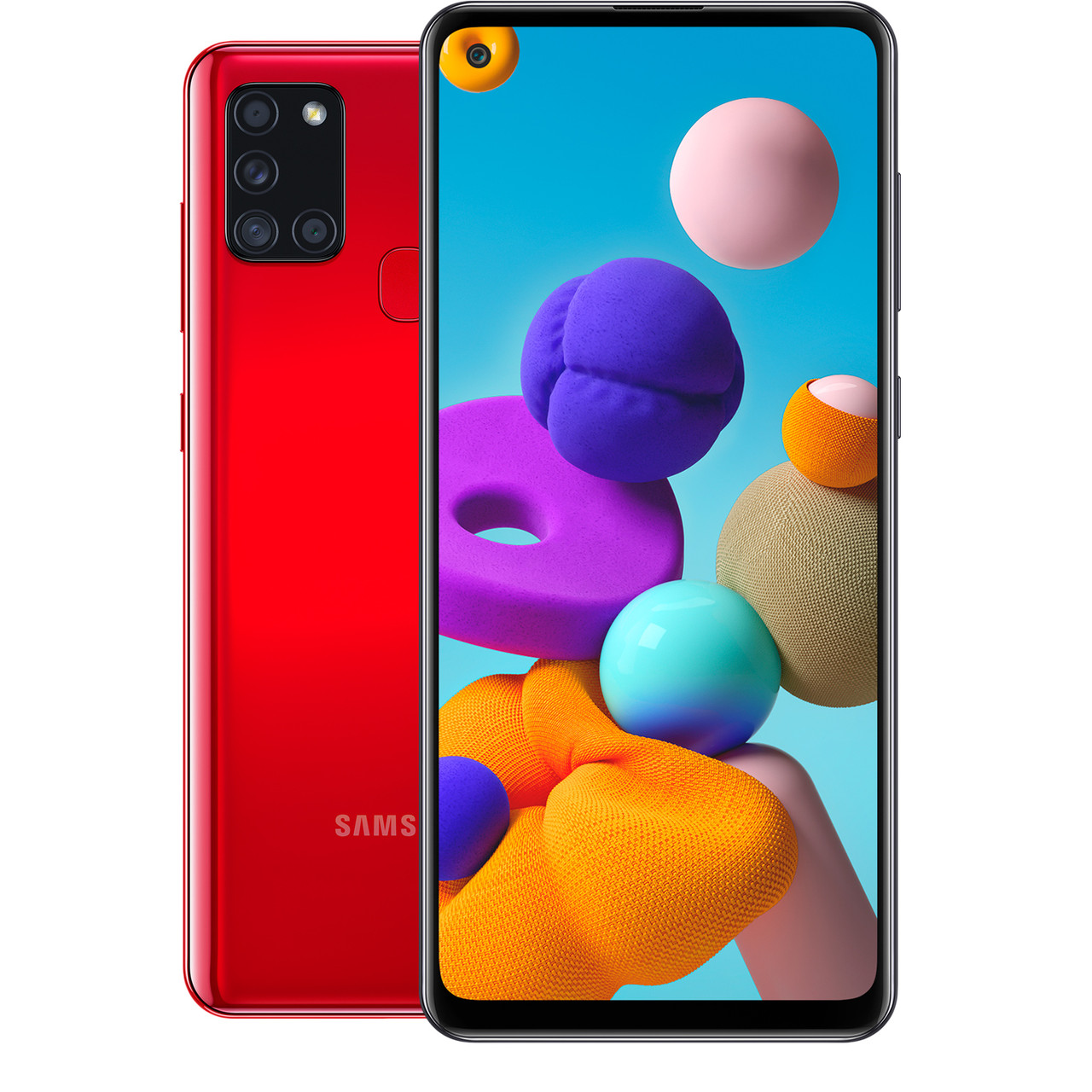 Смартфон Samsung Galaxy A21s 32Gb RED