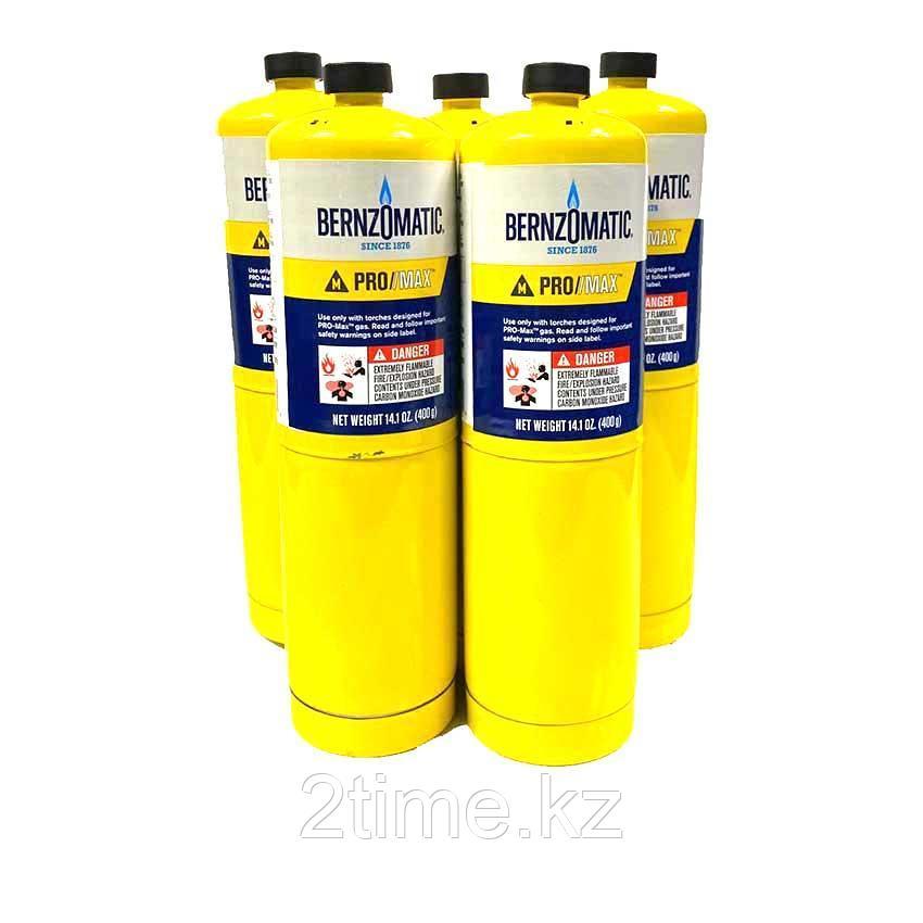 Газ BERNIZOMATIC PRO/MAX, для горелок