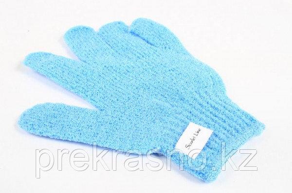 Мочалка перчатка (нейлон) Scarlet