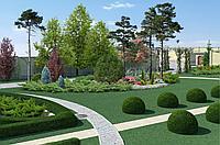 3D визуализация парков, скверов