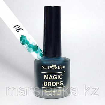 Акварельные капли Nail Best №8, 10мл