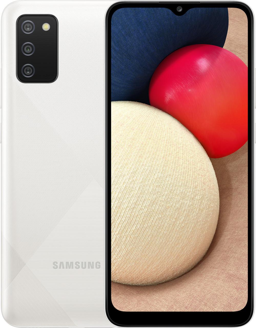 Смартфон Samsung Galaxy A02s 32Gb white