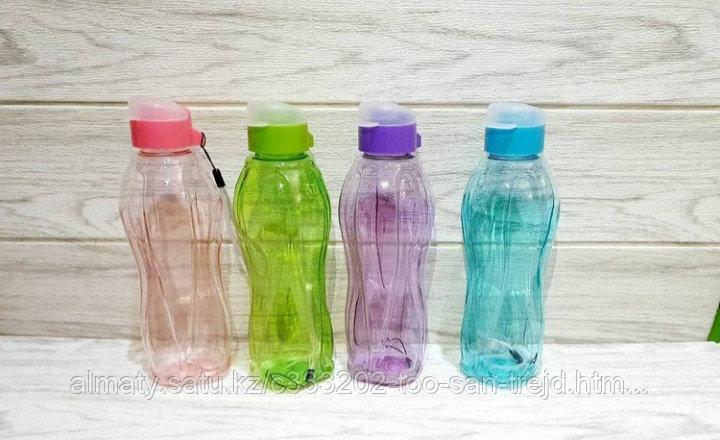 Пластиковая бутылка для воды(0.5 л)