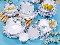ARCOPAL ALIYA BLUE столовый сервиз на 6 персон из 38 предметов