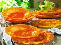 LILY FLOWER столовый сервиз на 6 персон из 19 предметов