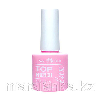 Топ LUX Nail Best, FRENCH TOP (молочный топ без л.с), 15мл