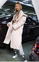 Куртка удлиненная (молочная) L