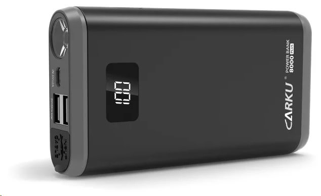 Пуско-зарядное устройство CarKu Power Bank 8000+