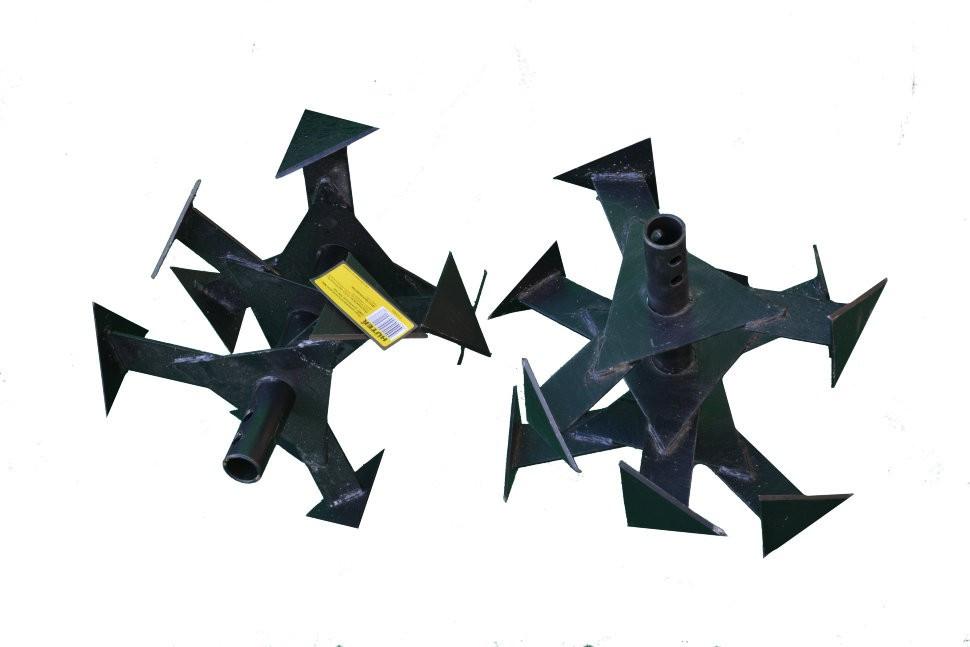 "Фреза ""Гусиные лапки"" GMC-5.5,GMC-6.5,GMC-6.8,GMC-7.0 вал 25 мм) (комп. 2 шт.) - фото 1"