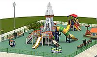 3D визуализация детской площадки
