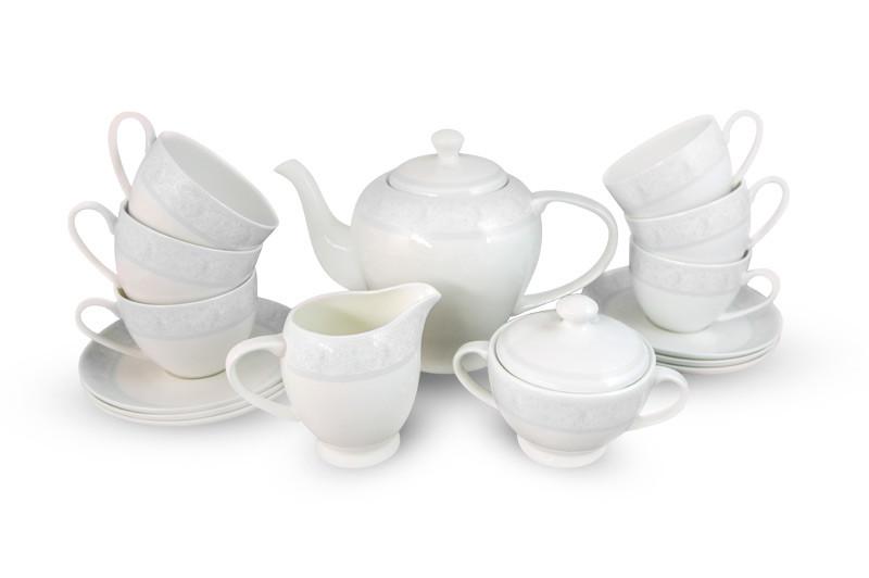 Дионис-Грей чайный сервиз