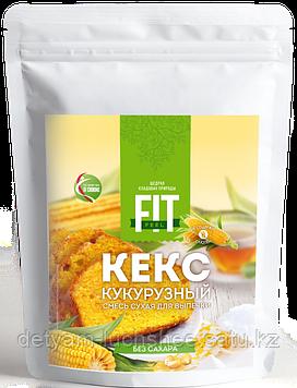 Кекс кукурузный без сахара (сухая смесь для выпечки), FitFeel, 200 г