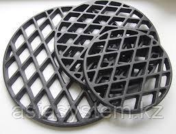 Чугунная  решетка для стейков  к тандыру большая