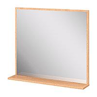 Шкаф навесной: панель зеркальная и полка