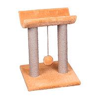 Когтеточка - лежанка полукруглая на двух столбах 7 Котиков