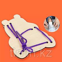 Деревянная шнуровка, фото 3