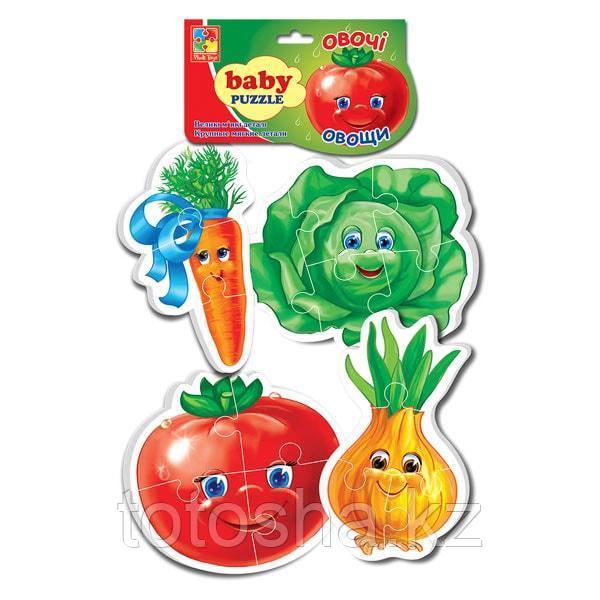"Baby Puzzle ""Овощи"" Арт. VT1106-03"