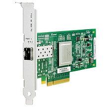 HPE AK344A Адаптер FC 8Gb  81Q 8Gb 1-port PCIe Fibre Channel Host Bus Adapter (PCIe 3.0 x8)