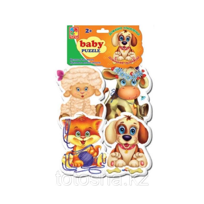 "Baby Puzzle ""Домашние любимцы"" VT1106-07"