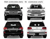 Рестайлинг комплект переделки Land Cruiser 200 c 2007-2015 под 2016-2021 год