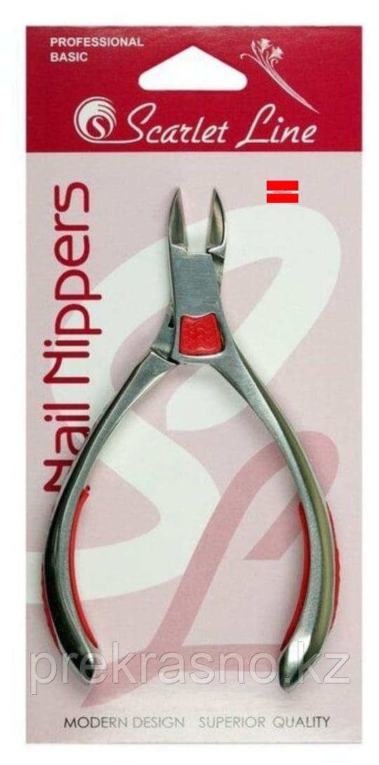Кусачки 15мм для ногтей Scarlet Line 8814 С