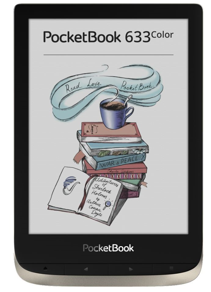 Электронная книга PocketBook PB633-N-CIS серебро