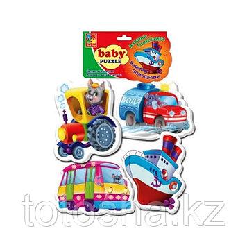 """Baby Puzzle """"Машины-помощники"""" VT1106-08"""