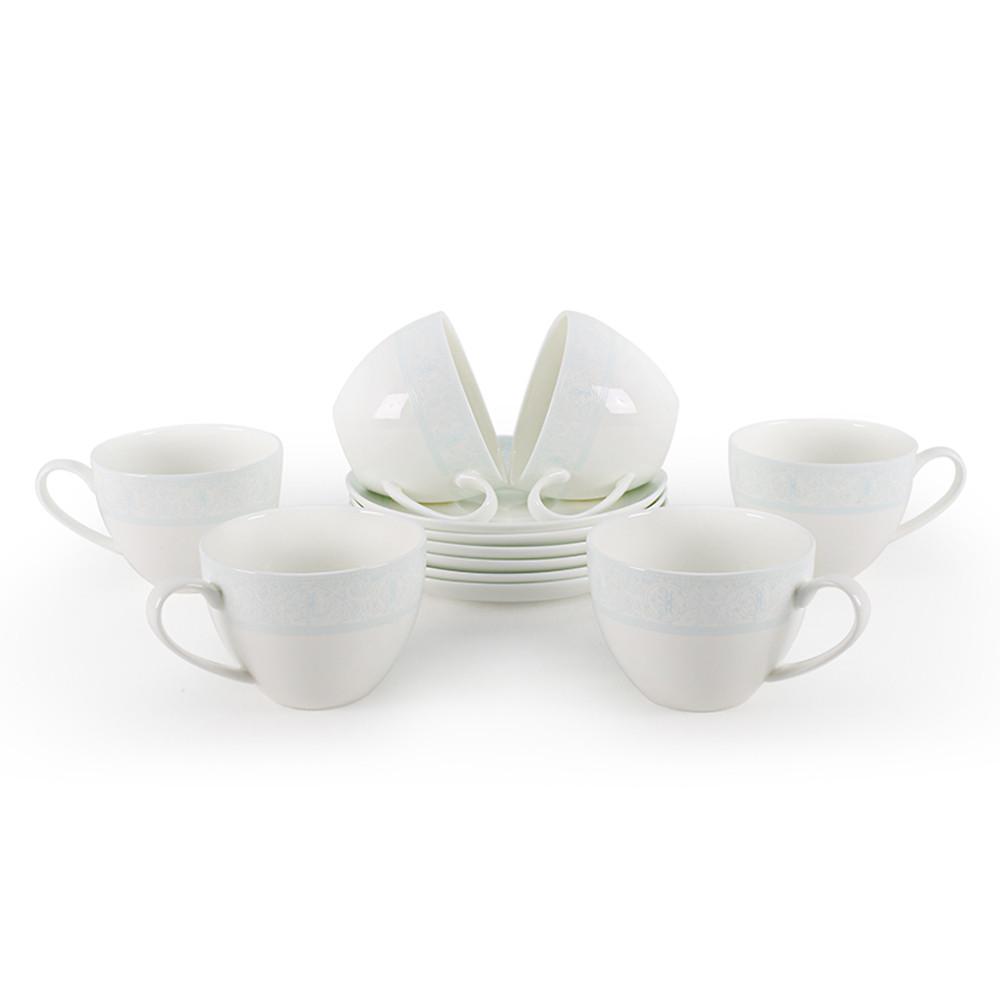 Дионис-Аквамарин набор чайных пар