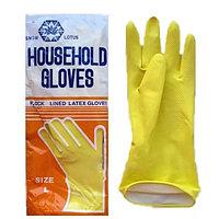 Перчатки резиновые тонкие