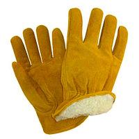 Перчатки сварочные замшевые с начосом