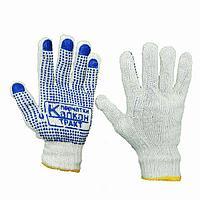 Перчатки тонкие Капкан с ПВХ покрытием
