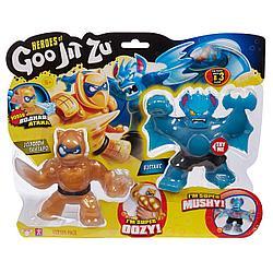 Гуджитсу Игровой набор Пантаро и Бэттакс Водная Атака тянущиеся фигурки ТМ GooJitZu