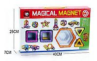 Magical Magnet: Магнитный конструктор, 40 деталей. Настольные игры новые!