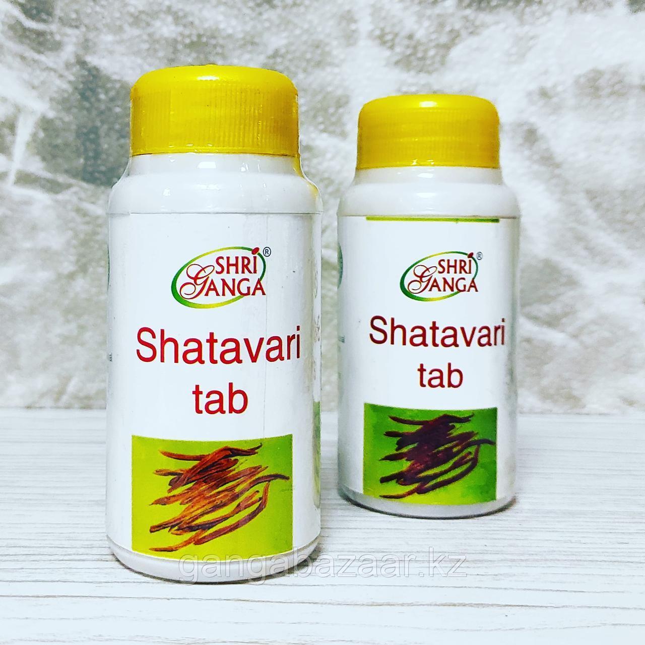 Шатавари Шри Ганга Shatavari Shri Ganga - гормональные нарушения, лактация, бесплодие, эндометриоз 200 таб