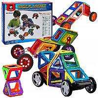 Magical Magnet: Магнитный конструктор, 98 деталей. Настольные игры новые!