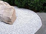 Белая мраморная крошка для озеленения, фото 2
