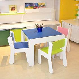 Детская Мебель (столы, стулья, стеллажи)