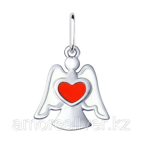 Подвеска SOKOLOV серебро с родием, эмаль, символы 94032126