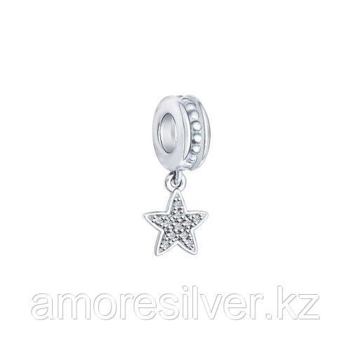 Подвеска SOKOLOV серебро с родием, фианит  94031563