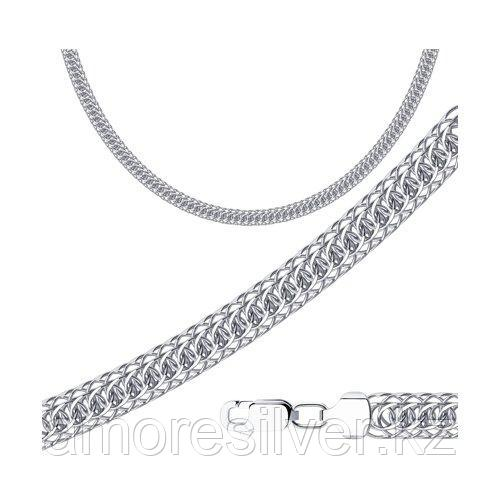 Цепь SOKOLOV серебро с родием, без вставок, скорпион 968300702 размеры - 50