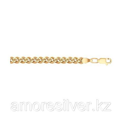 Браслет SOKOLOV серебро с позолотой, без вставок, нонна 985060802 размеры - 17 19