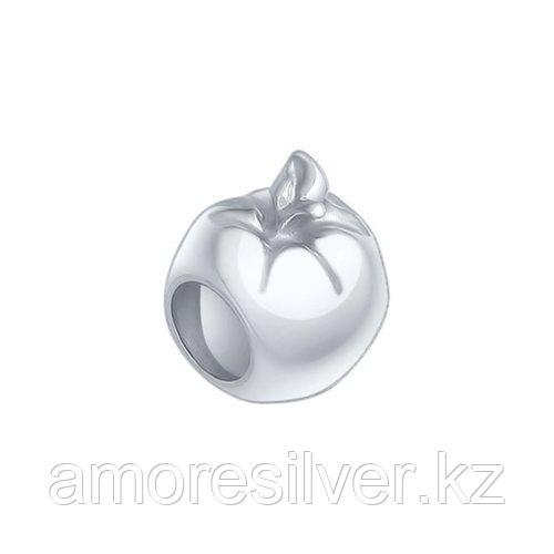 Подвеска-шарм SOKOLOV серебро с родием, без вставок 94031616