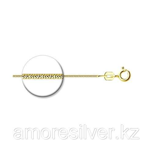 Цепь SOKOLOV серебро с позолотой, без вставок 94074583