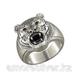 Печатка SOKOLOV из черненного серебра, фианит  95010023