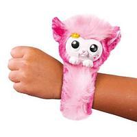 Браслет-игрушка интерактивный питомец Pets Wrapples {50+ звуков и реакций} (Розовый)