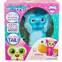 Браслет-игрушка интерактивный питомец Pets Wrapples {50+ звуков и реакций} (Голубой)