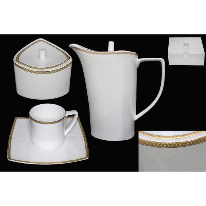 Чайный сервиз Galaxy Gold,16 предметов, в подарочной упаковке